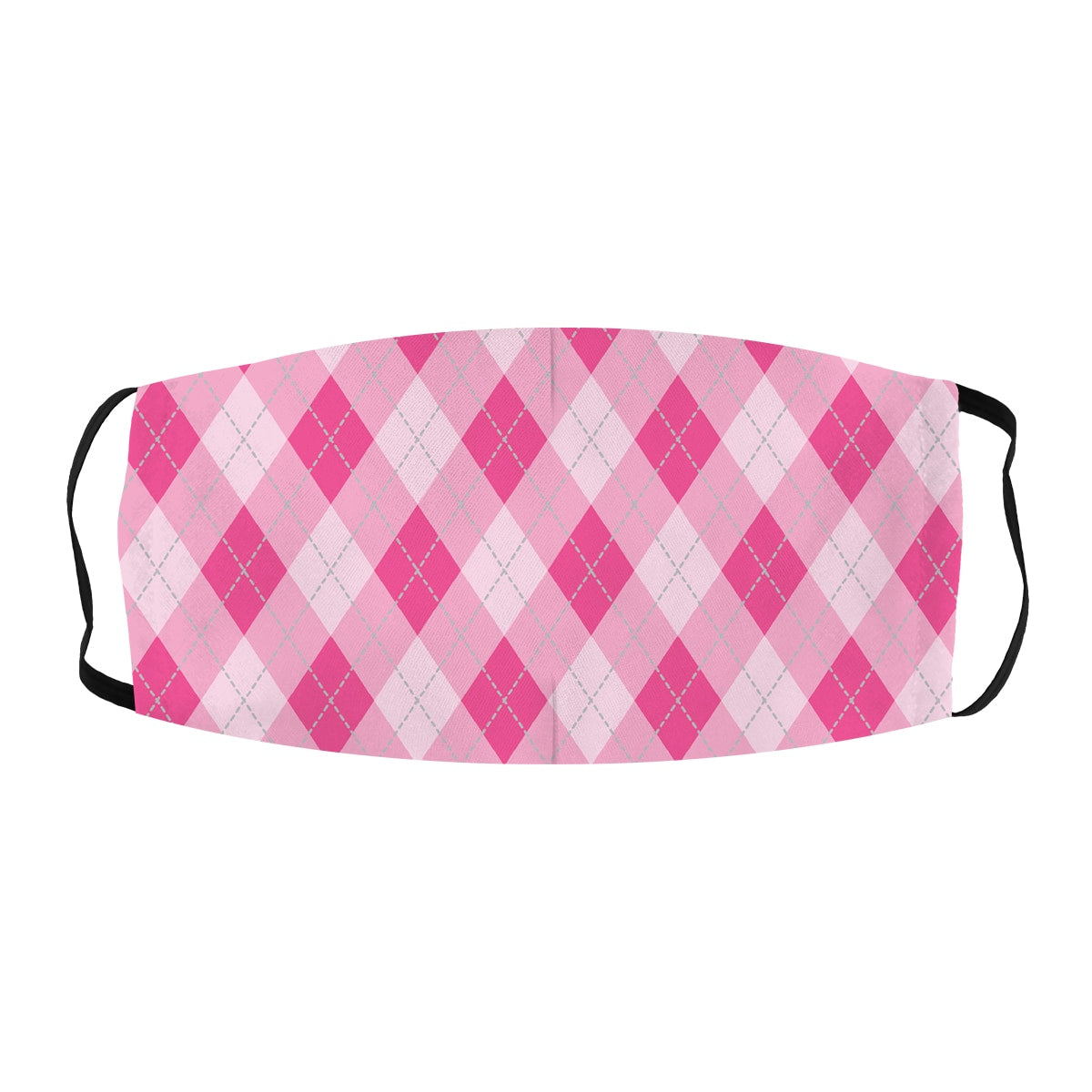 ASTI Face Mask Golf Plaid Pink