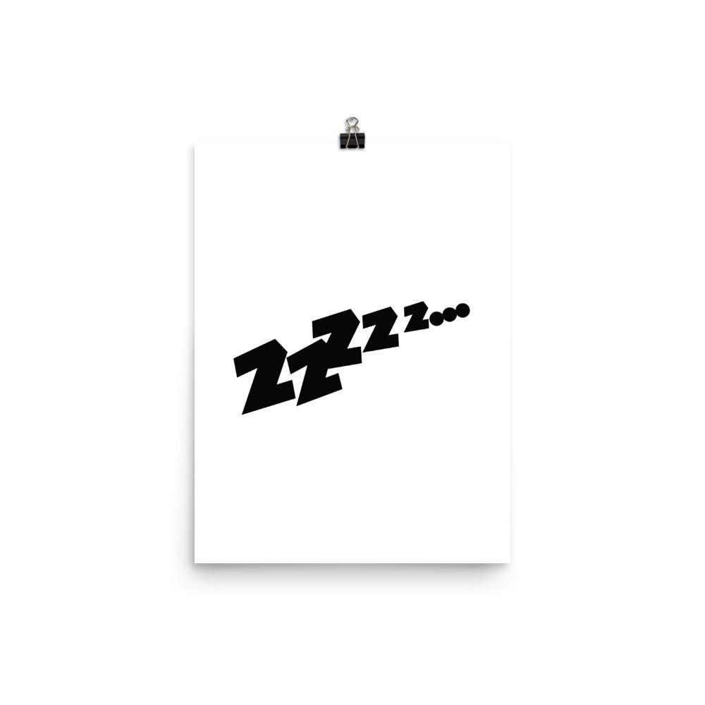 zzz poster