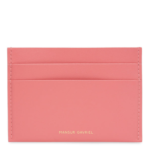 mansur gavriel credit card holder - Pink Card Holder