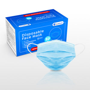 Disposable Face Mask - Case of 2500
