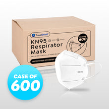 Load image into Gallery viewer, KN95 Respirator Face Mask - Case of 600