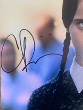 Load image into Gallery viewer, Christina Ricci signed Addams Family 11x14 poster JSA COA
