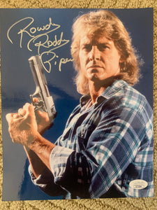 Roddy Piper autographed THEY LIVE 8x10 JSA COA