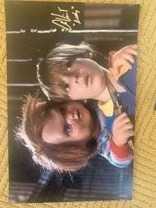 Childs Play Alex Vincent signed 11x17 poster