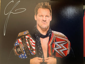 Chris Jericho signed WWE 8x10 photo Y2J