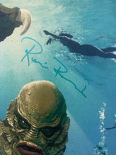 Load image into Gallery viewer, RICOU BROWNING Signed Creature from the Black Lagoon 11x17 poster JSA COA