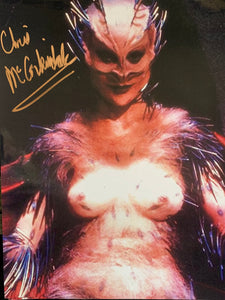 NightBreed Christine McCorkindale signed Shuna Sassi 8x10 photo