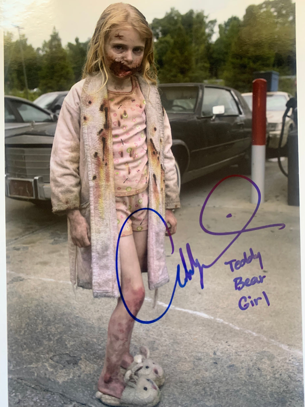 Walking Dead Addy Miller signed 8x10 photo