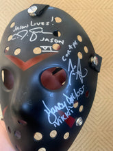 Load image into Gallery viewer, Friday The 13th Part 6 Jason lives mask signed by 5