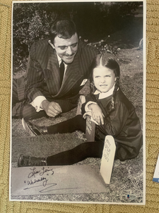 ADDAMS FAMILY LISA LORING signed 11x17 Photo WEDNESDAY ADDAMS  Beckett COA