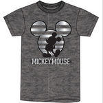 Disney Unisex Sizing Mickey Mouse Silouhette Shirt-Lola Monroe Boutique
