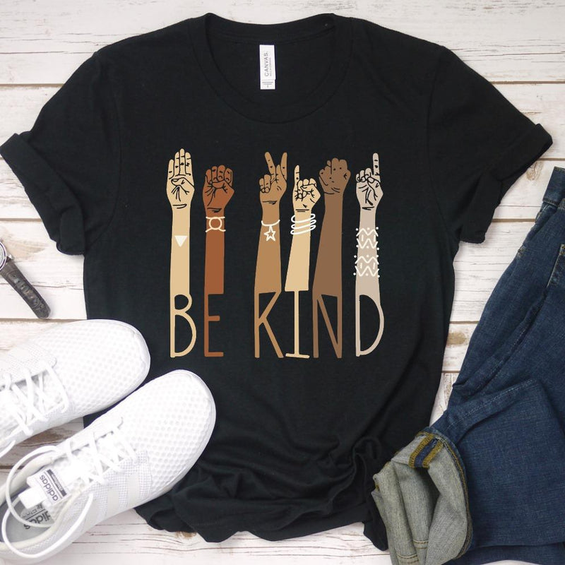 Be Kind Humanity Tee-Lola Monroe Boutique