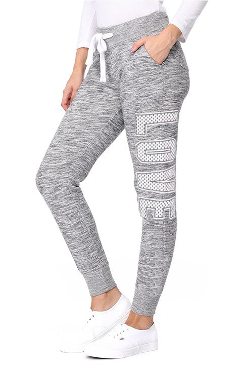 Love Joggers (Marbled Grey)-Lola Monroe Boutique