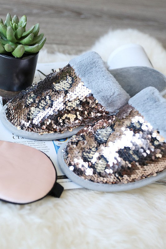 Flipsy Sequin Slippers-Lola Monroe Boutique