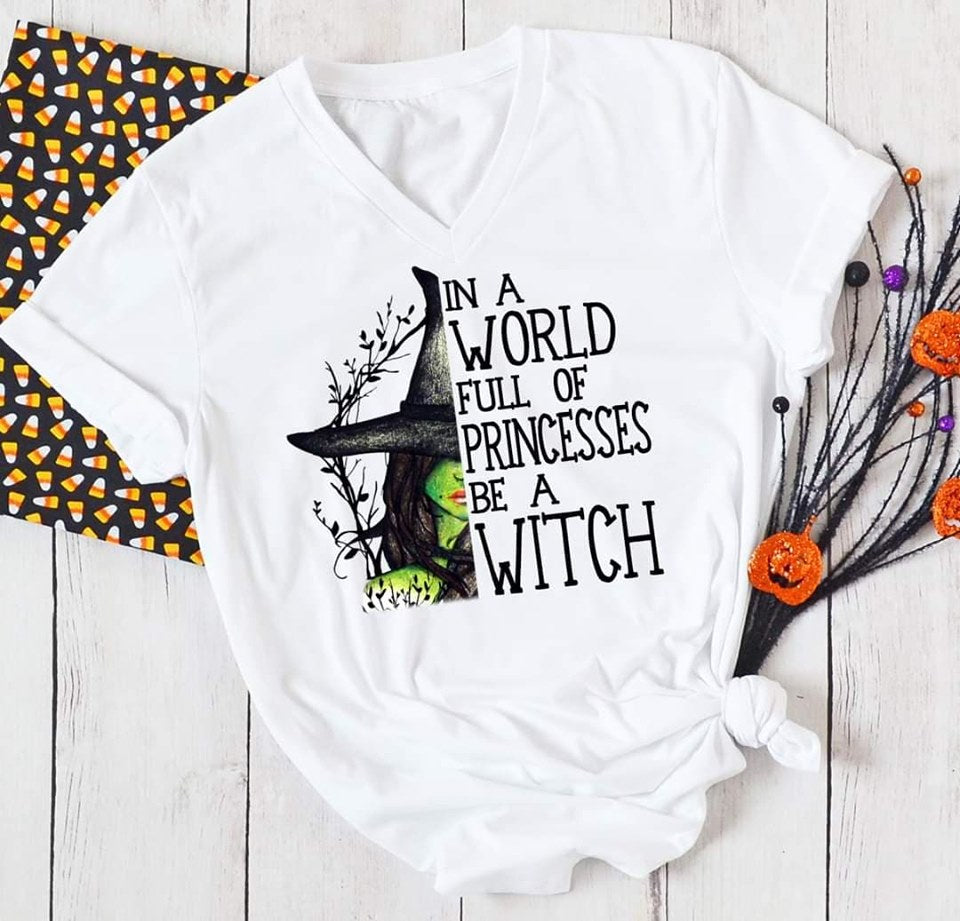 Be A Witch V Neck-Lola Monroe Boutique