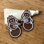 Naughty Gingerbread People (singles)-Lola Monroe Boutique