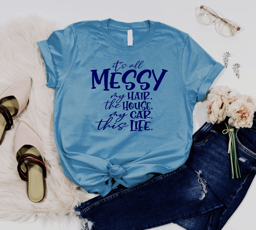 Pre-sale Messy Tee-Lola Monroe Boutique