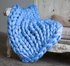 Pre-sale Queen Size Chunky Knitted Blanket-Lola Monroe Boutique