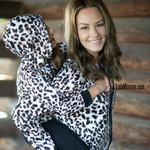 PRE-SALE Adult & Kid Animal Print Sweatshirt-Lola Monroe Boutique