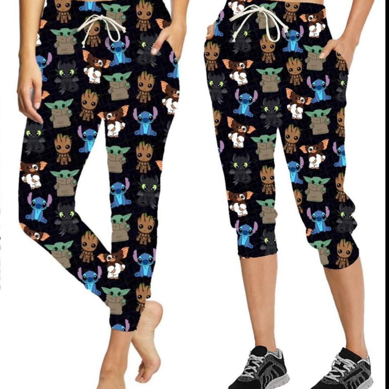 Little Squish leggings and joggers (Kids and Adult)-Lola Monroe Boutique