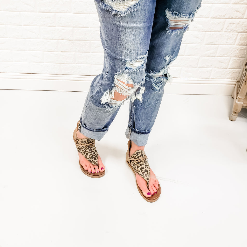 "Judy Blue ""Bleach Party"" Destroyed Boyfriend Jeans-Lola Monroe Boutique"