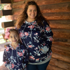 PRE-SALE Adult & Kid Floral Sweatshirt-Lola Monroe Boutique