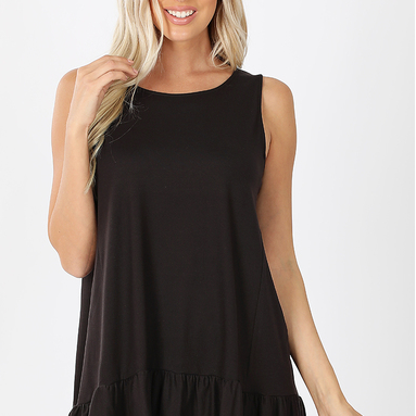 Butter Leggings Baby Doll Tunic Tank-Lola Monroe Boutique