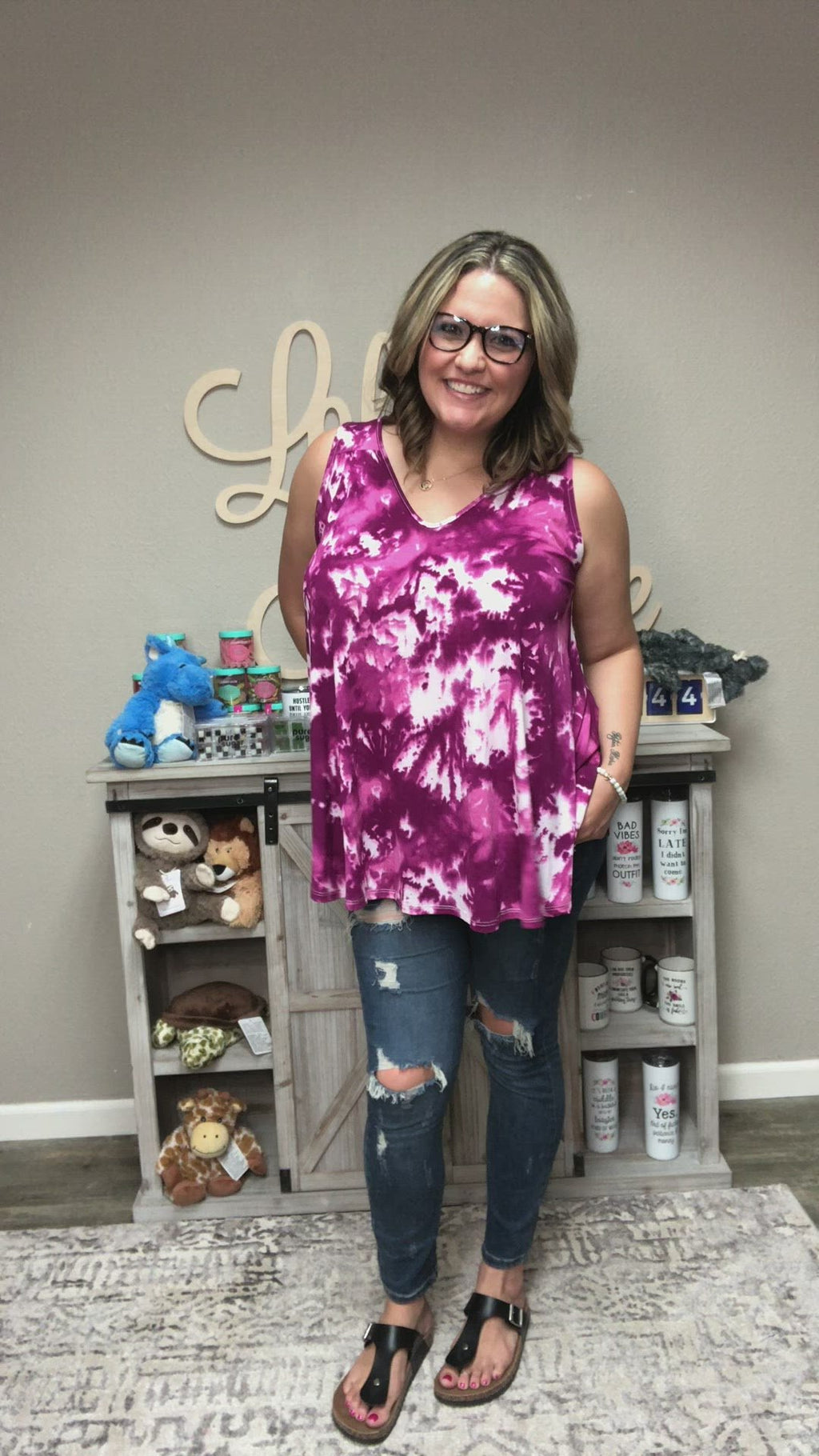 Summer Dreaming Tunic Tank