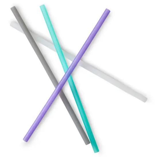 Silicone Straw 4 Pack-Lola Monroe Boutique