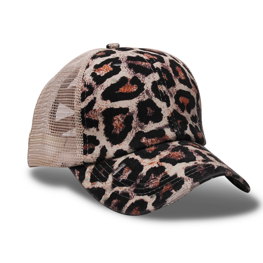 Closeout Criss Cross Ponytail Hat-Lola Monroe Boutique
