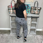"""Night Sky"" Light Weight Joggers with Side Pockets-Lola Monroe Boutique"