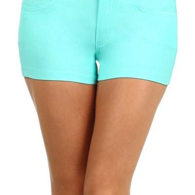 Shorts Jegging Style-Lola Monroe Boutique