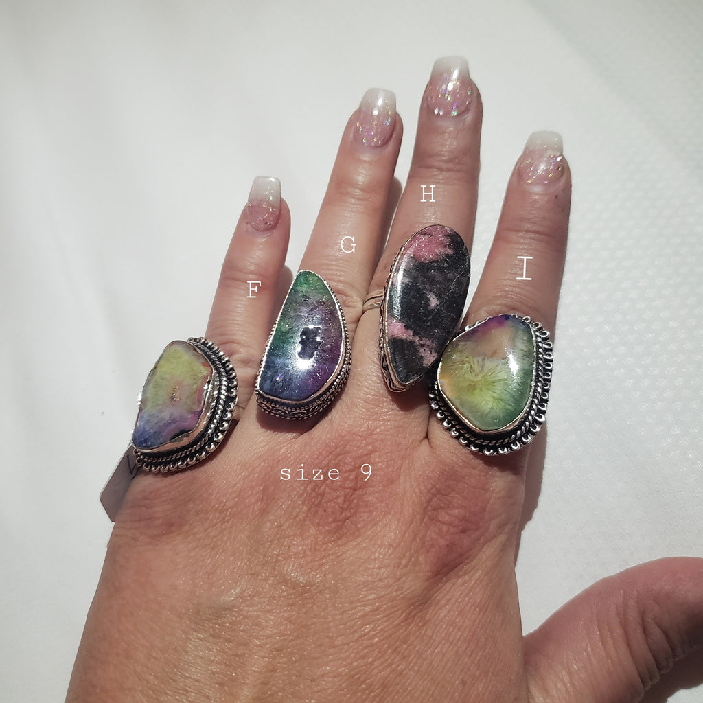 Turkish Rings 9 Shown in Dallas-Lola Monroe Boutique