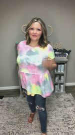 "Honey Me ""It's Groovy"" Baby Doll Tunic"