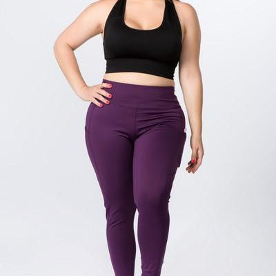High Waist Workout Leggings-Lola Monroe Boutique