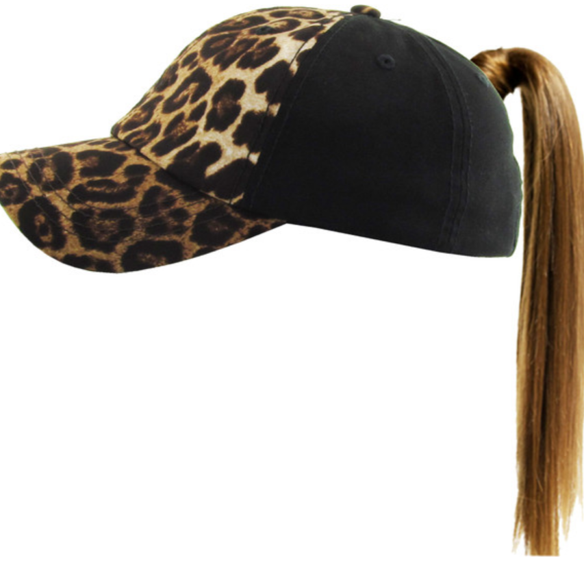 Closeout Pony Tail Hats-Lola Monroe Boutique
