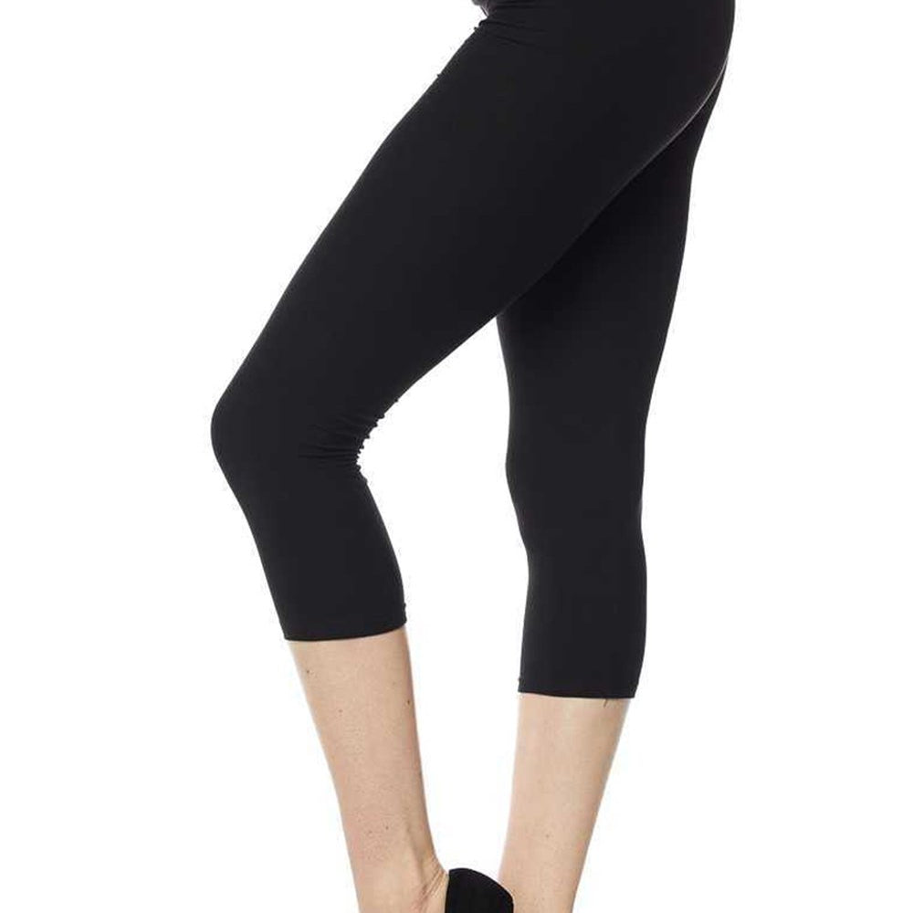 Butter Soft Capri Leggings-Lola Monroe Boutique