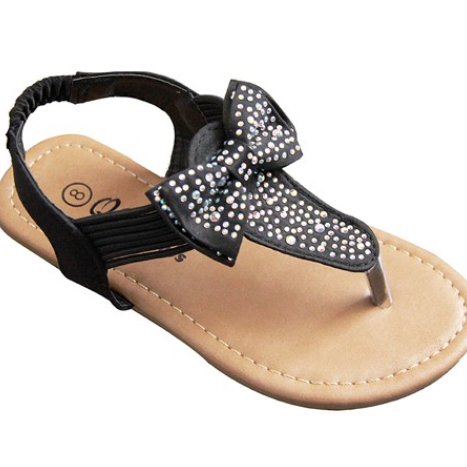 CLOSEOUT Toddler & Kids Sparkle Flip Flop-Lola Monroe Boutique