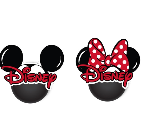 Disney Mickey & Minnie Mouse Head Antenna Toppers-Lola Monroe Boutique