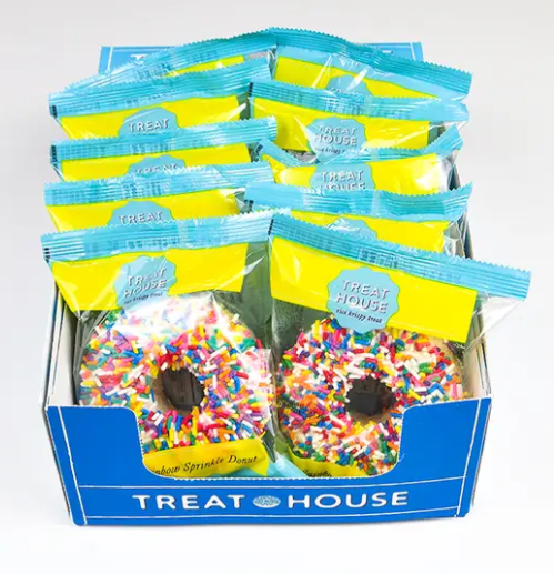 Donut Shaped Gourmet Rice Krispie Treats-Lola Monroe Boutique