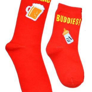 99 cent close out Daddy and Me Sock Combinations-Lola Monroe Boutique