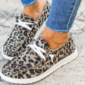 Very G Holly Soft As Clouds Slip On (Leopard)-Lola Monroe Boutique