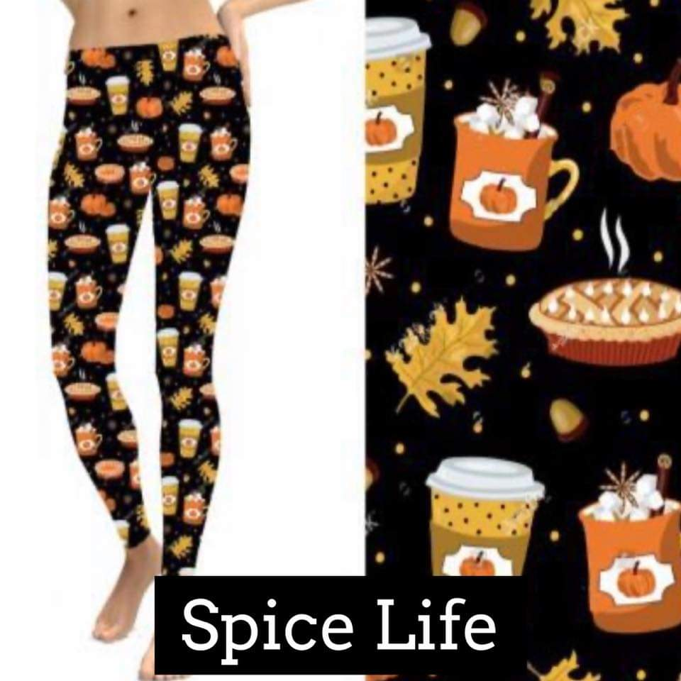 Fall & Halloween Leggings-Lola Monroe Boutique
