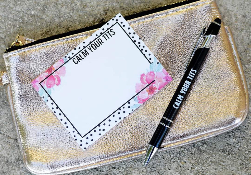 Calm Your Udders Notepad-Lola Monroe Boutique