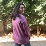 """Raspberry Dreams"" Mineral Wash Hoodie-Lola Monroe Boutique"