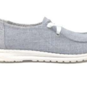 LAST FEW! Very G Holly Soft As Clouds Slip On (Grey)-Lola Monroe Boutique