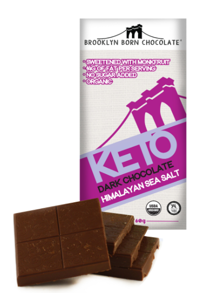Brooklyn Born Chocolate Bars (Keto Dark Chocolate Sea Salt)-Lola Monroe Boutique