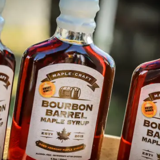 Bourbon Barrel Maple Syrup-Lola Monroe Boutique