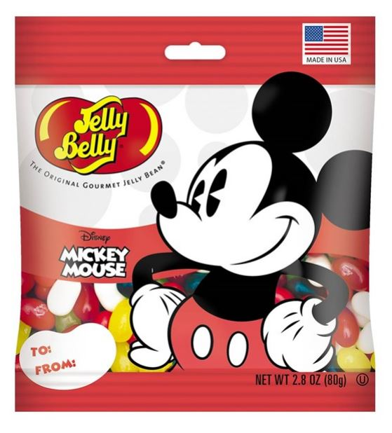 Jelly Belly 2.8 ounce Grab & Go Snack Bags (Multiple Characters)-Lola Monroe Boutique