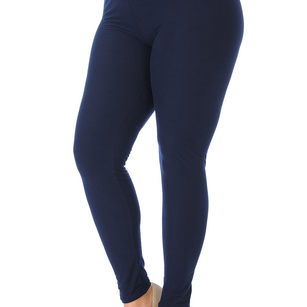 Lightweight Butter Soft Solid Leggings-Lola Monroe Boutique